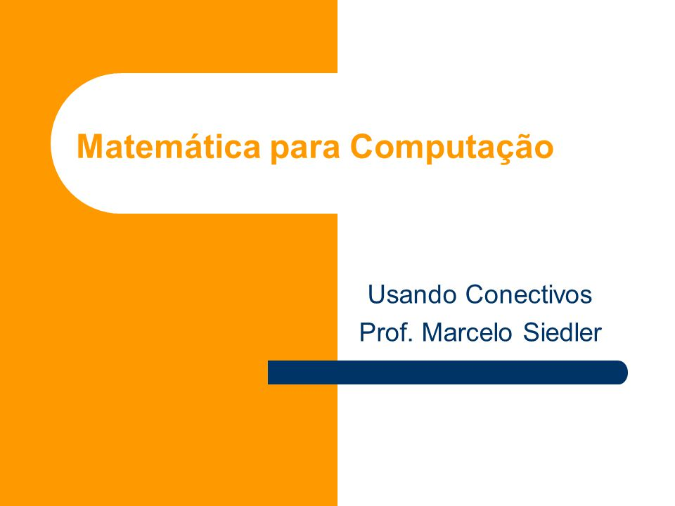 Matemática para Computação