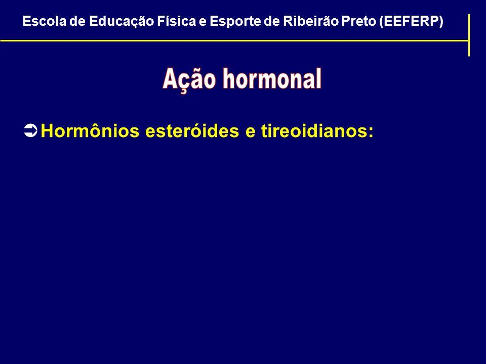 Hormônios esteróides e tireoidianos: