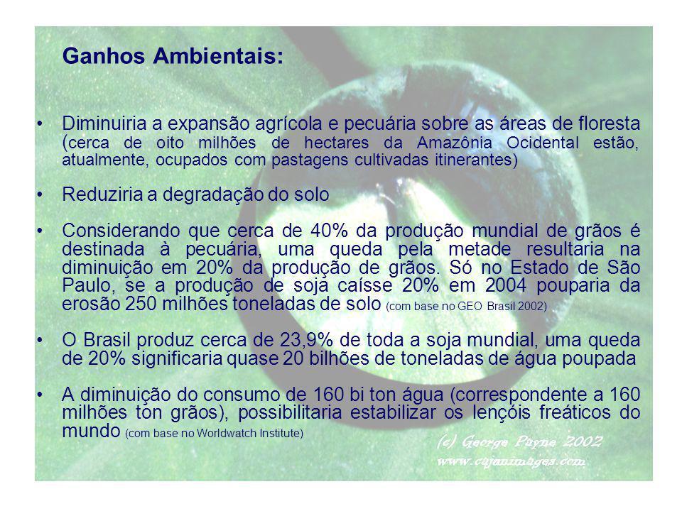 Ganhos Ambientais: