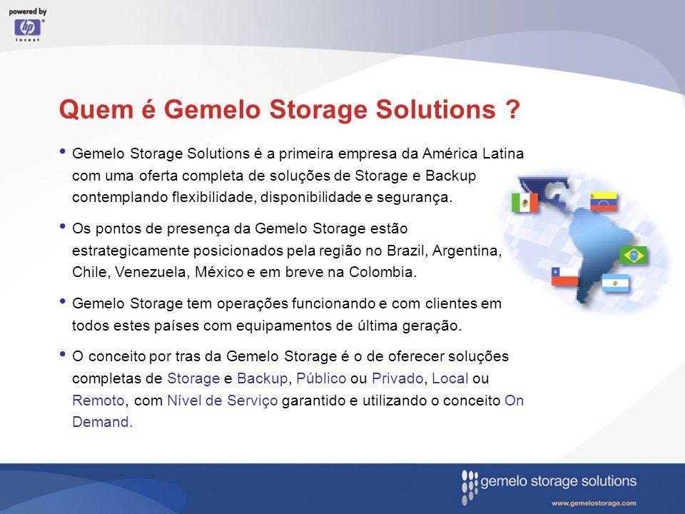 Quem é Gemelo Storage Solutions