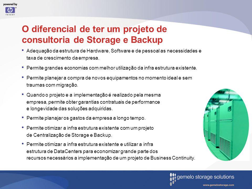 O diferencial de ter um projeto de consultoria de Storage e Backup