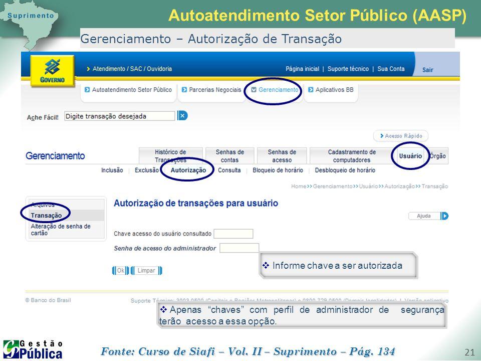Autoatendimento Setor Público (AASP)