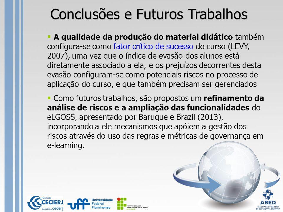 Conclusões e Futuros Trabalhos