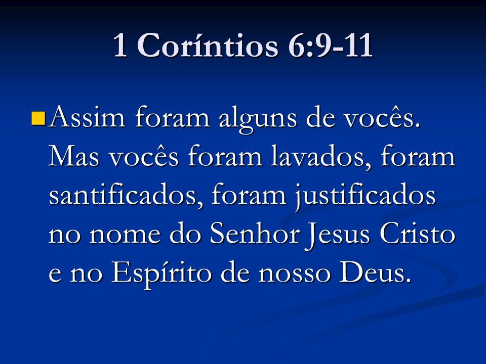 1 Coríntios 6:9-11