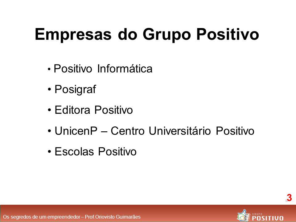 Empresas do Grupo Positivo
