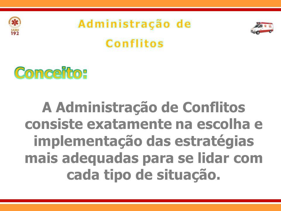 Administração de Conflitos. Conceito: