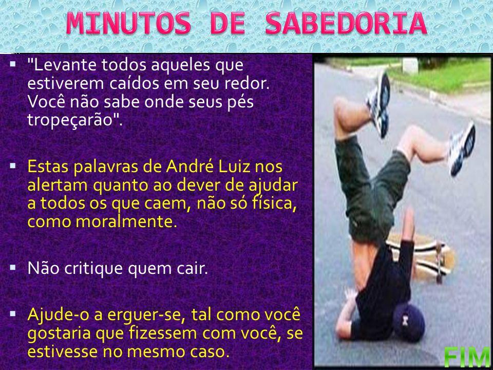 MINUTOS DE SABEDORIA FIM