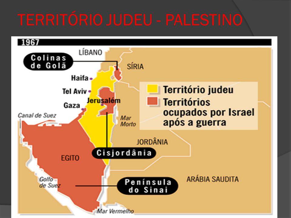 TERRITÓRIO JUDEU - PALESTINO