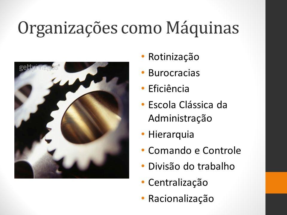 Organizações como Máquinas