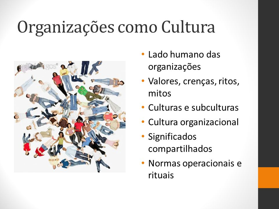 Organizações como Cultura
