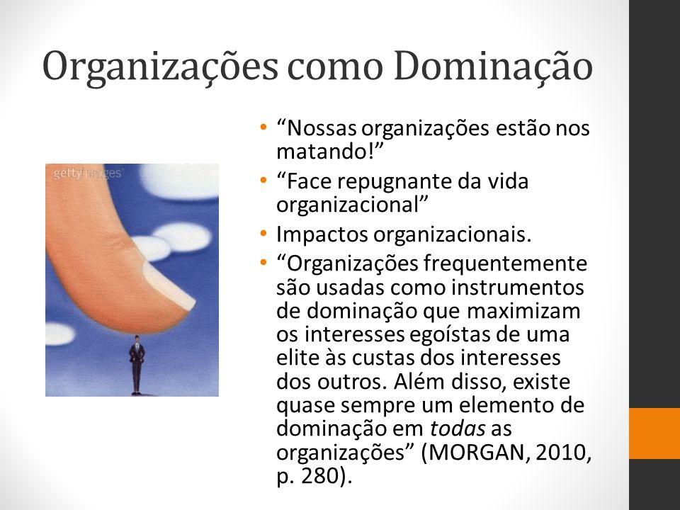 Organizações como Dominação