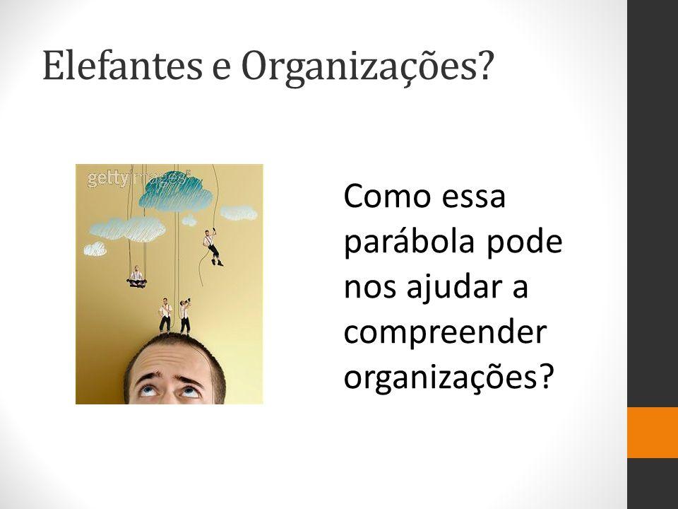 Elefantes e Organizações