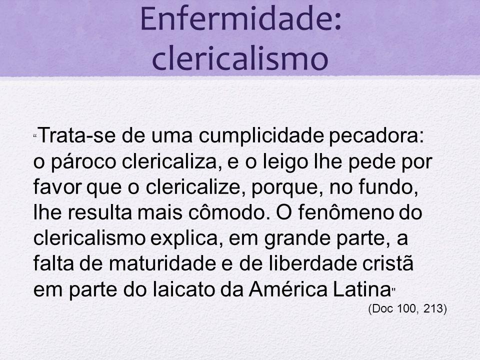 Enfermidade: clericalismo
