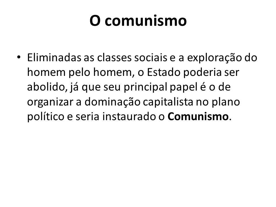 O comunismo