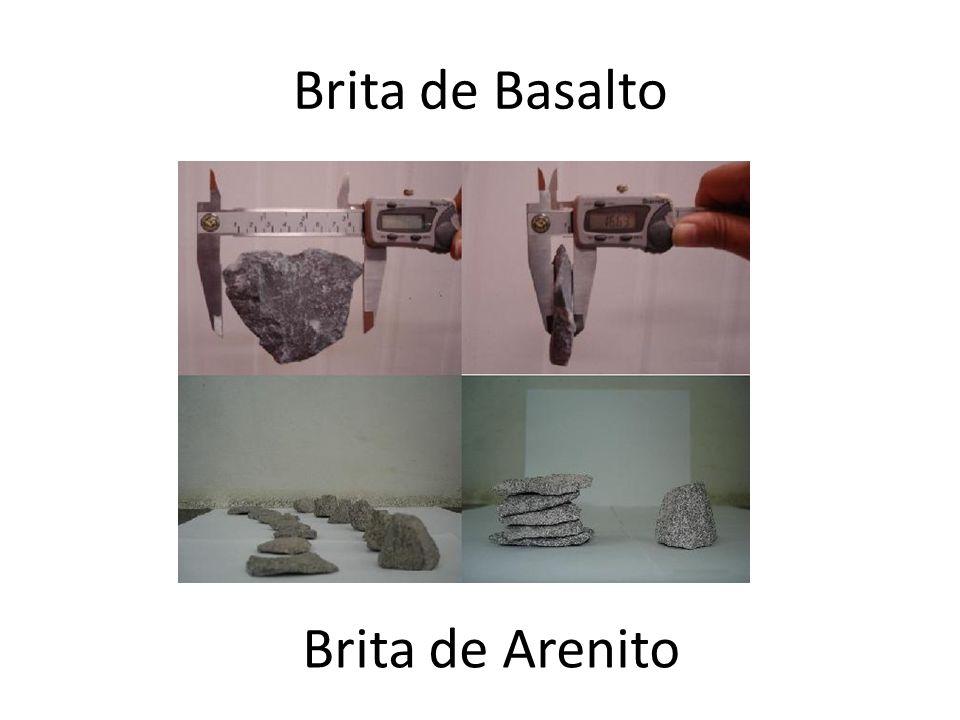 Brita de Basalto Brita de Arenito