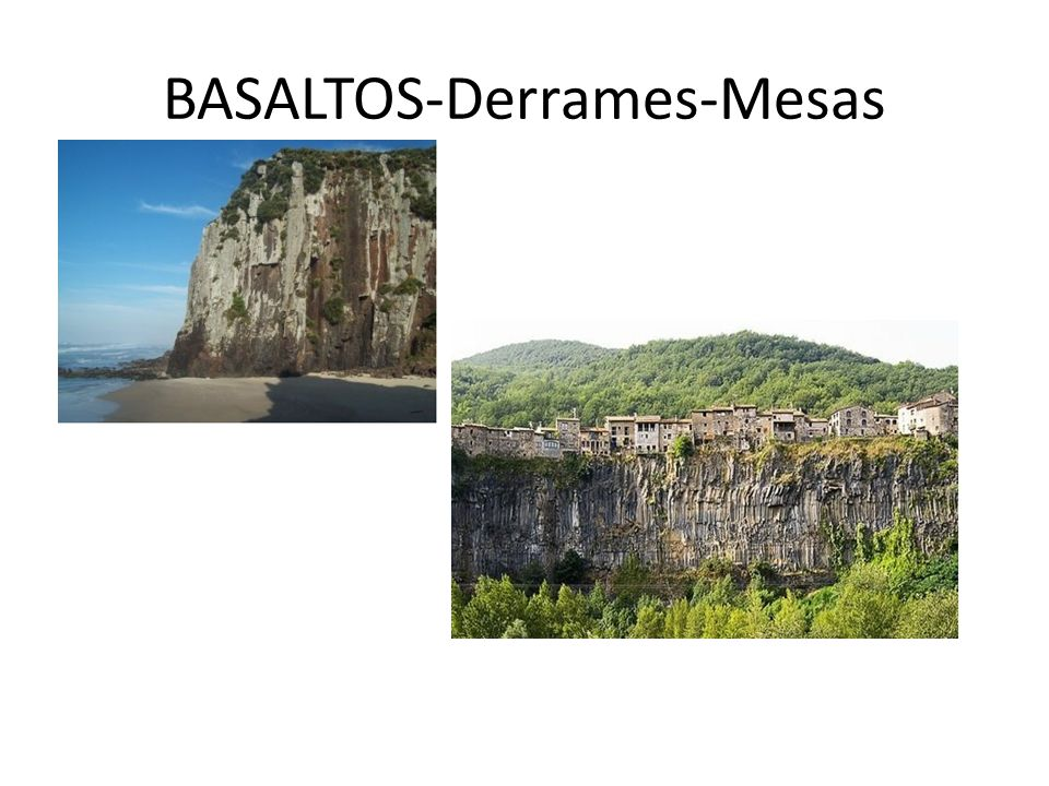 BASALTOS-Derrames-Mesas