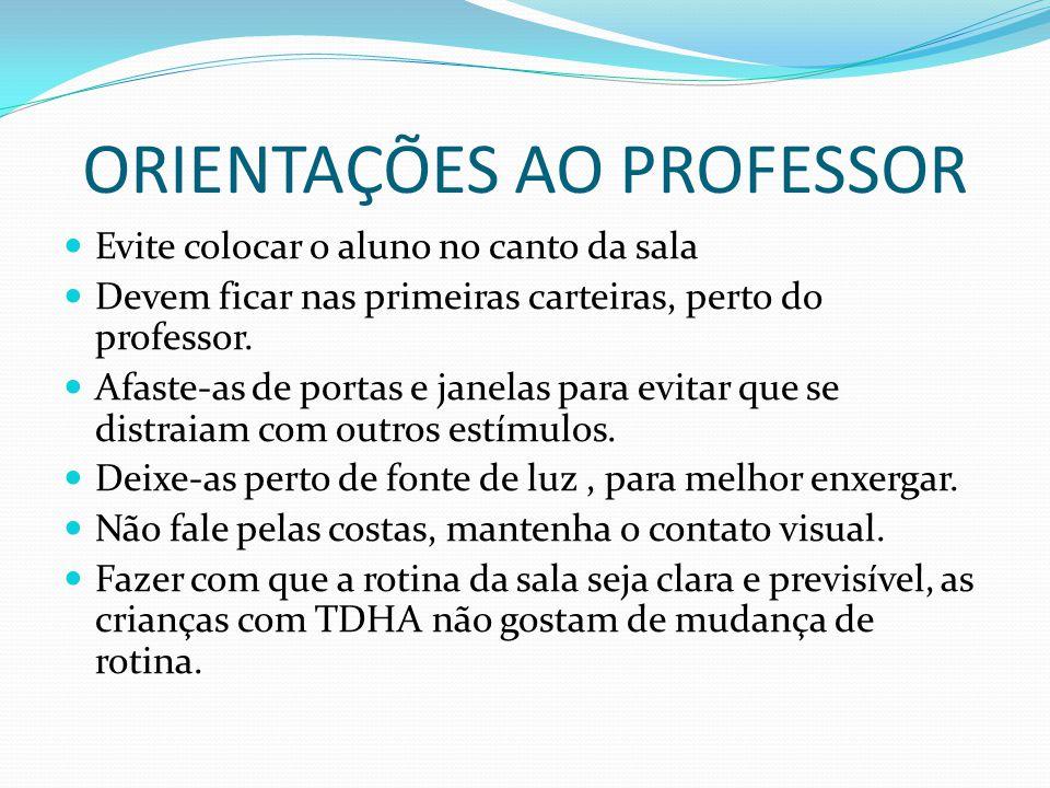 ORIENTAÇÕES AO PROFESSOR