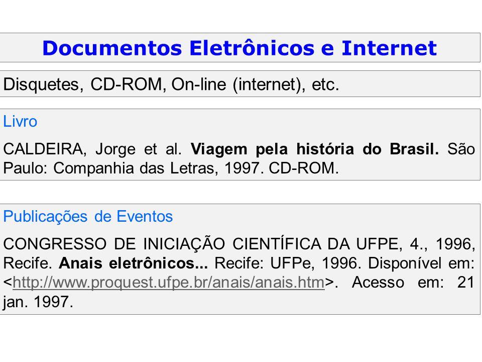 Documentos Eletrônicos e Internet