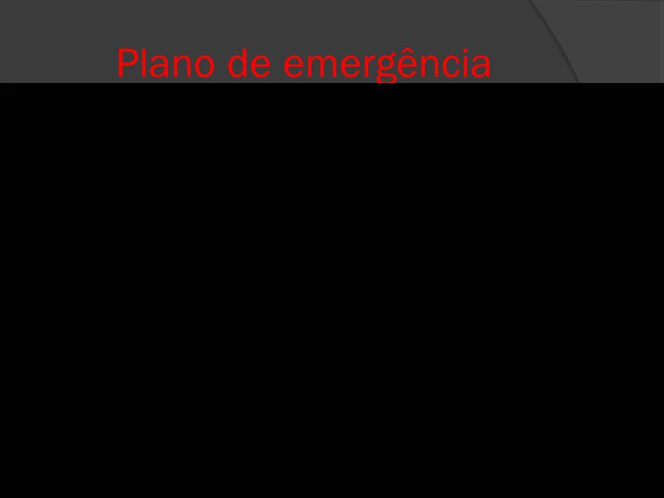 Plano de emergência