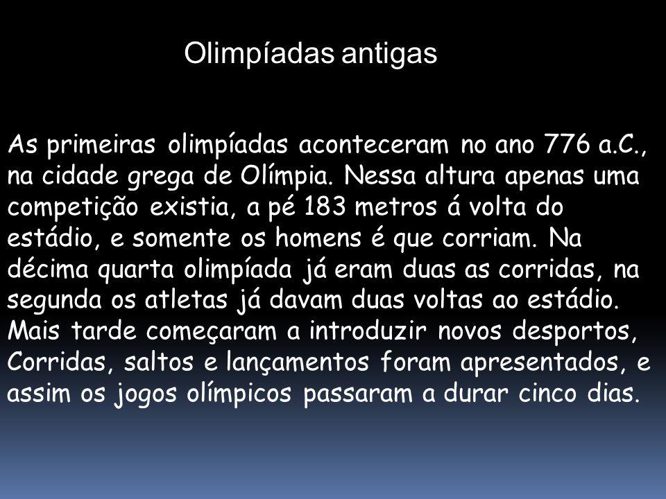 Olimpíadas antigas
