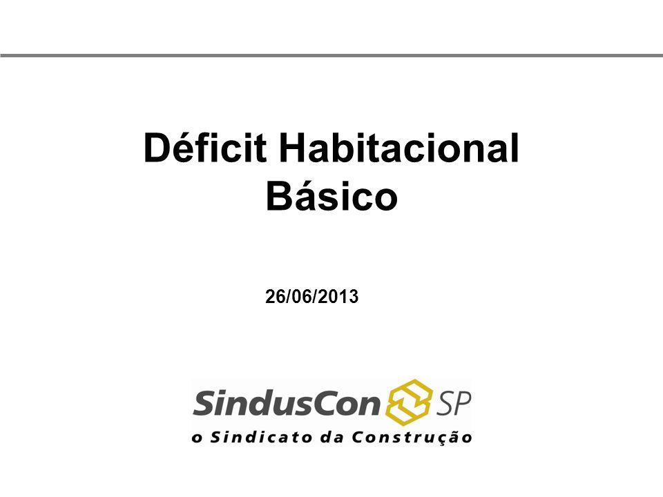 Déficit Habitacional Básico
