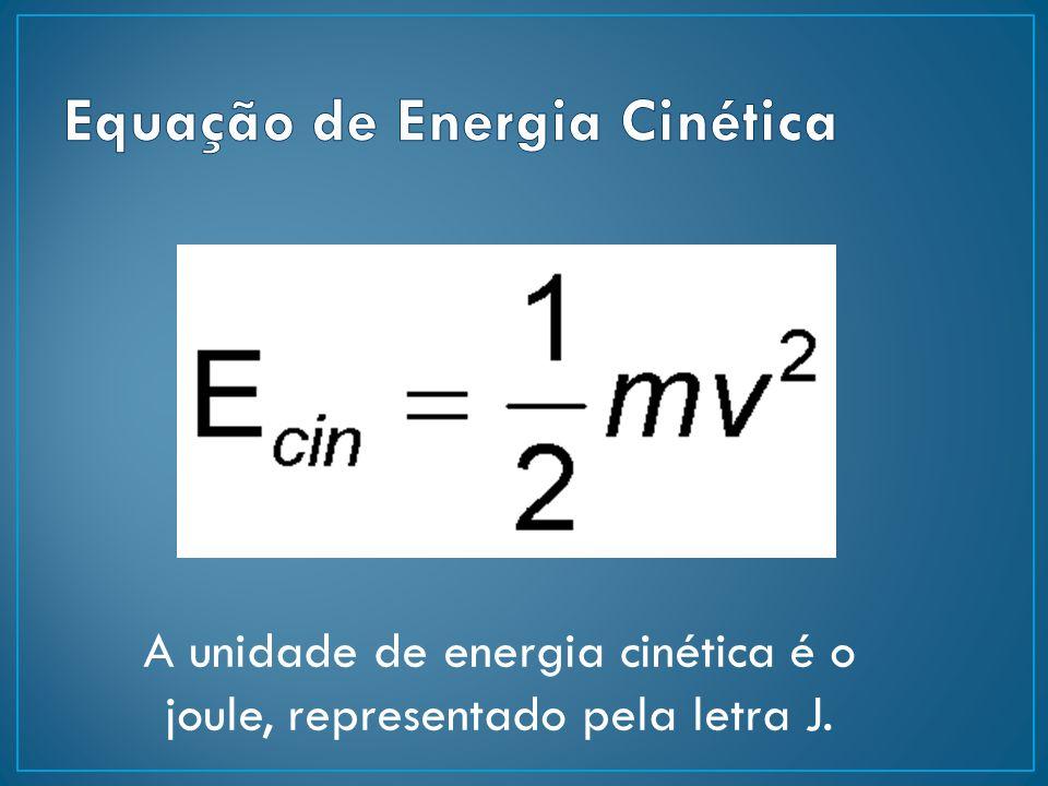 Equação de Energia Cinética