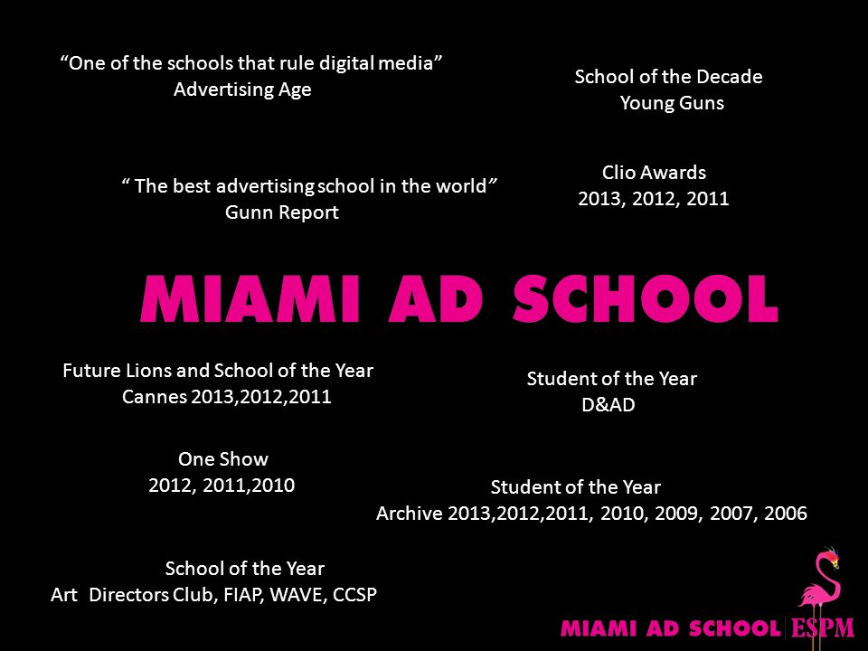 One of the schools that rule digital media