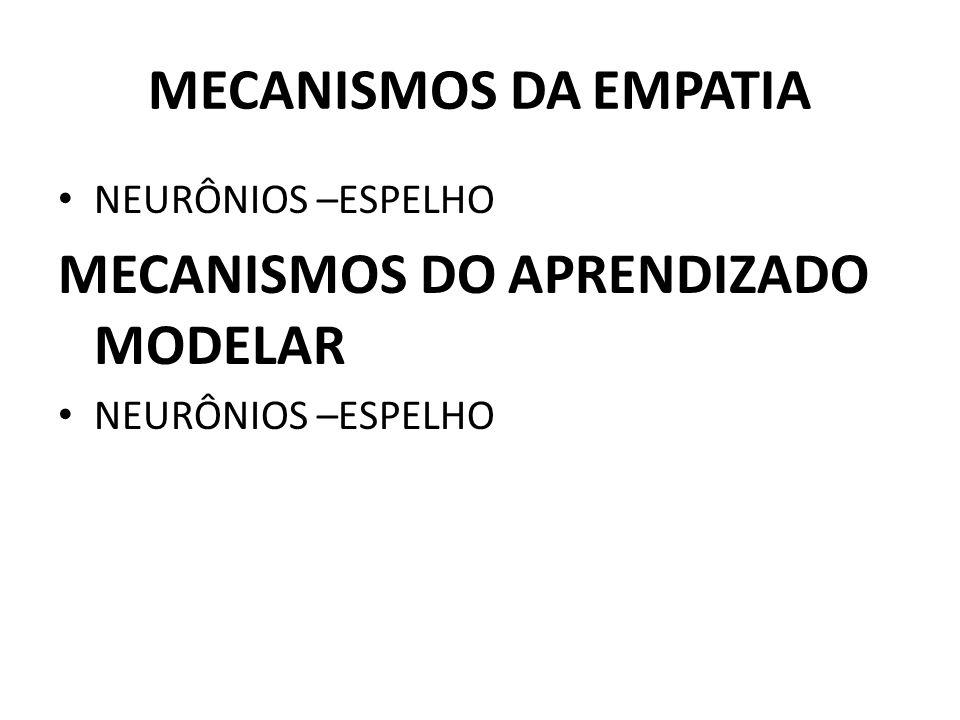 MECANISMOS DO APRENDIZADO MODELAR