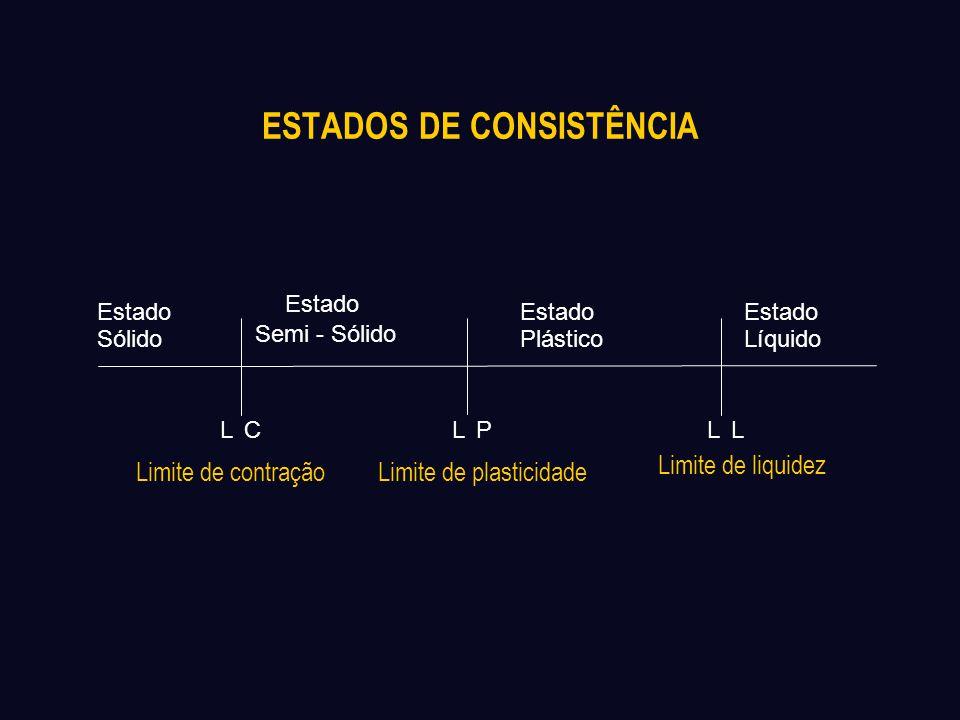 ESTADOS DE CONSISTÊNCIA