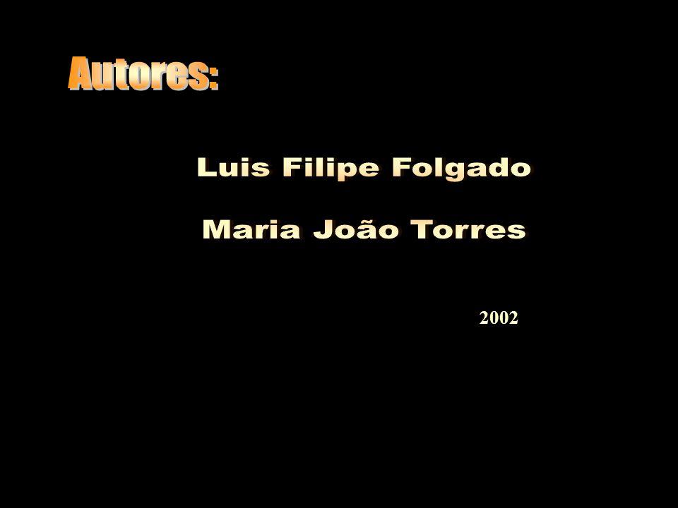 Autores: Luis Filipe Folgado Maria João Torres 2002