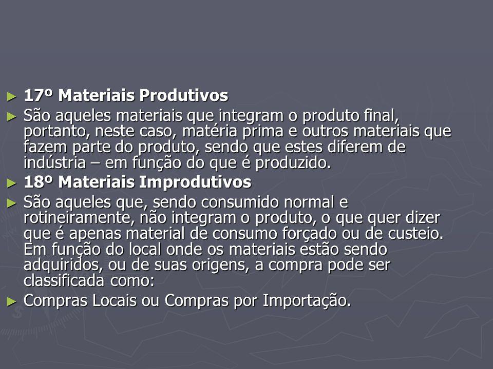 17º Materiais Produtivos