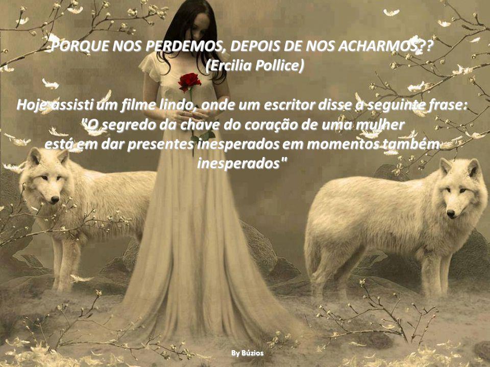 PORQUE NOS PERDEMOS, DEPOIS DE NOS ACHARMOS (Ercilia Pollice)