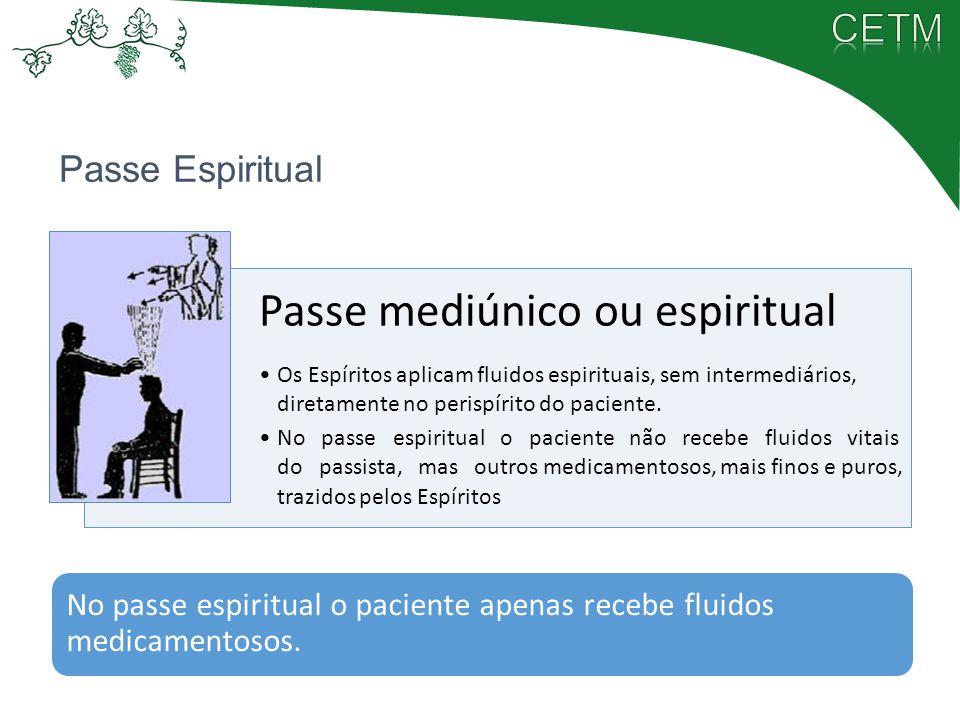 Passe mediúnico ou espiritual