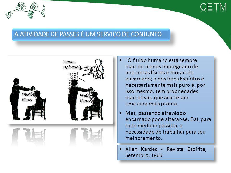 A ATIVIDADE DE PASSES É UM SERVIÇO DE CONJUNTO
