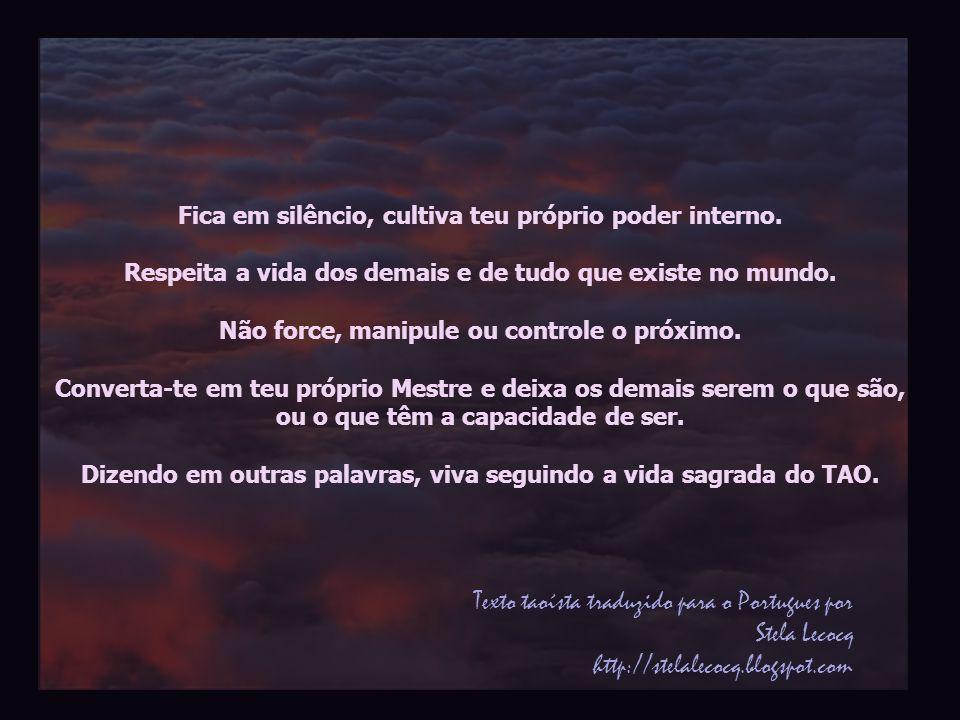 Texto taoísta traduzido para o Portugues por Stela Lecocq