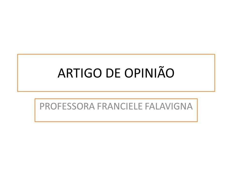 PROFESSORA FRANCIELE FALAVIGNA