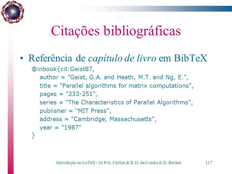 Citações bibliográficas