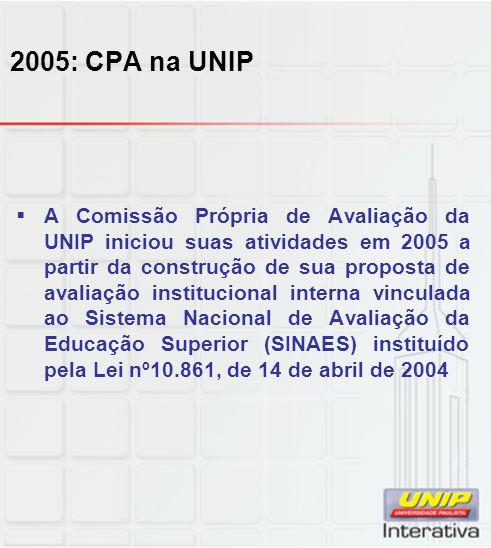 2005: CPA na UNIP
