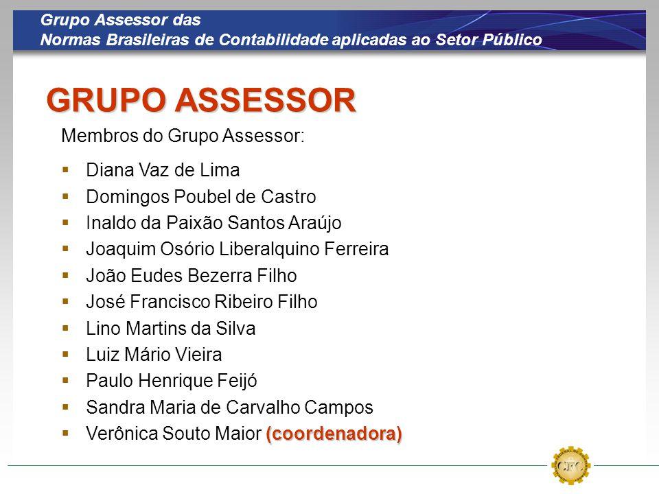 GRUPO ASSESSOR Membros do Grupo Assessor: Diana Vaz de Lima