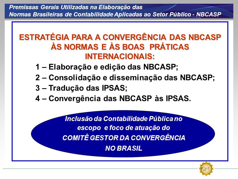 1 – Elaboração e edição das NBCASP;