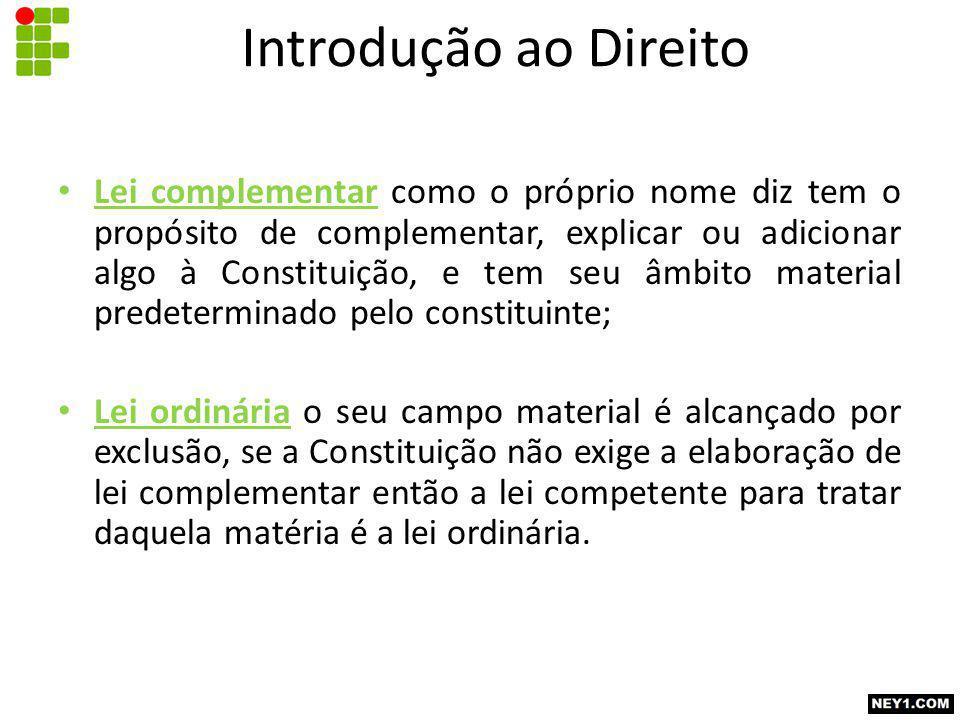 Introdução ao Direito
