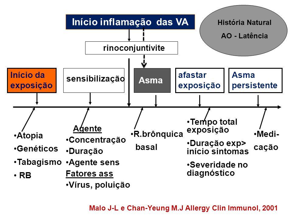 Início inflamação das VA