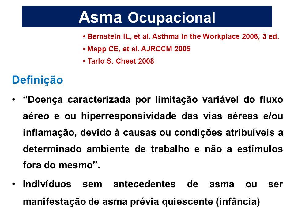 Asma Ocupacional Definição
