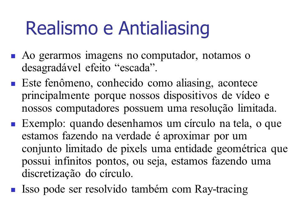 Realismo e Antialiasing