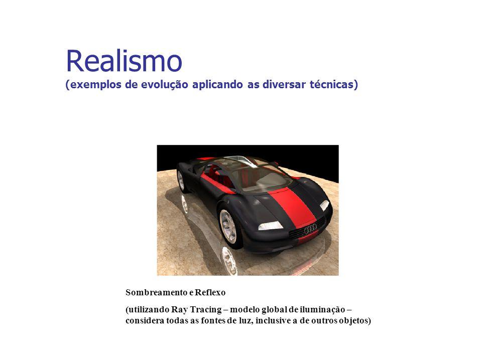 Realismo (exemplos de evolução aplicando as diversar técnicas)
