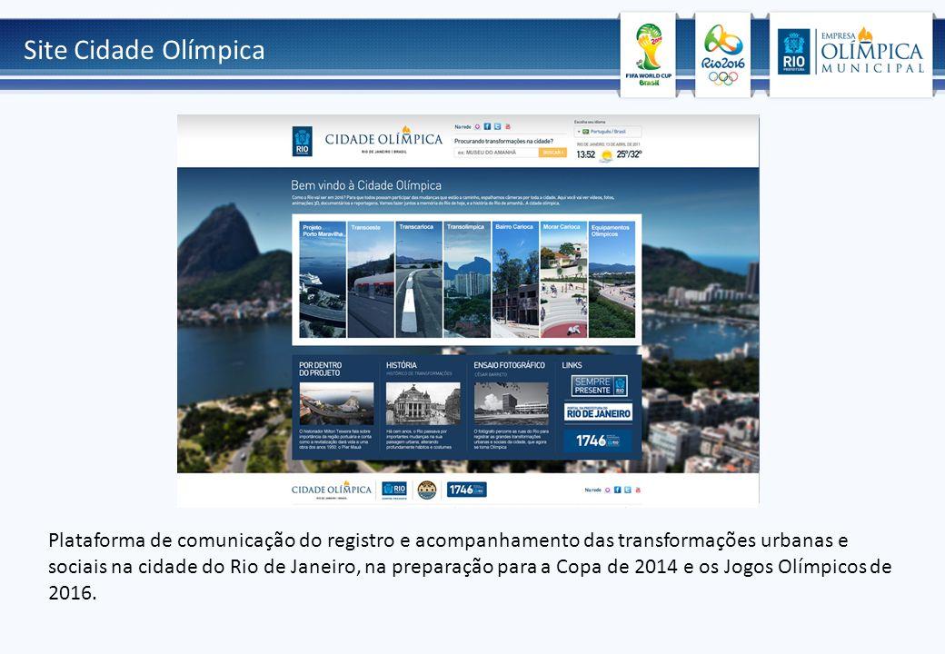Site Cidade Olímpica