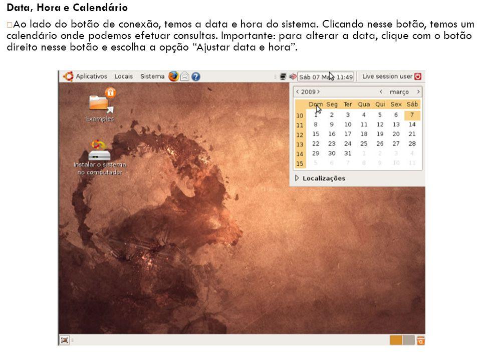 Data, Hora e Calendário