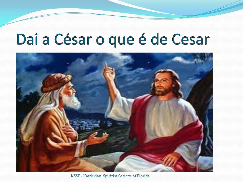 Dai a César o que é de Cesar
