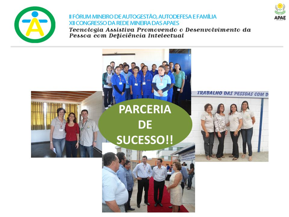 PARCERIA DE SUCESSO!!