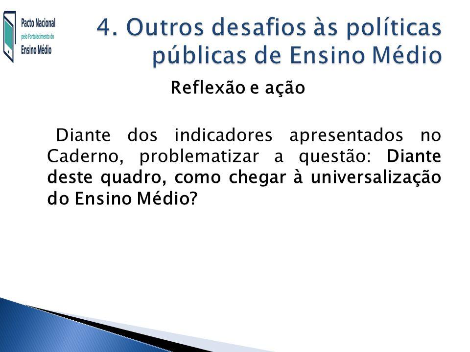 4. Outros desafios às políticas públicas de Ensino Médio